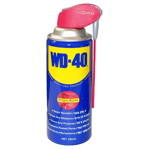 방청제 WD40 450ml 오일 윤활 녹제거 부식 소음 방지