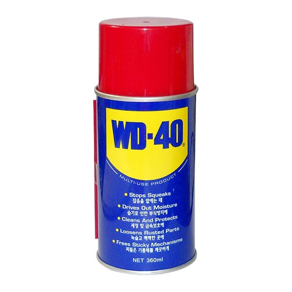 방청제 WD40 360ml 오일 윤활 소음 녹제거 부식 방지