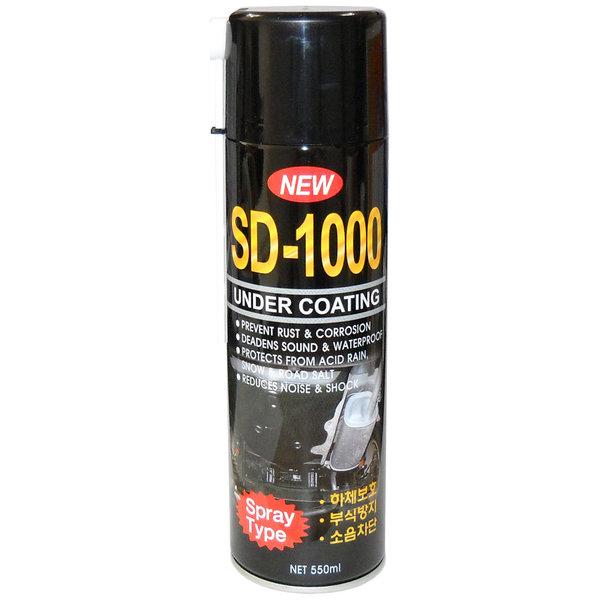 언더코팅스프레이 SD-1000(검정) 하체 방음 코팅제